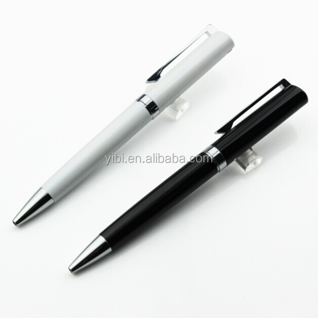 pen manufacture advertising customized logo promotional metal ball point pen