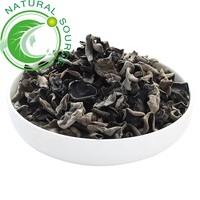 Wholesale Natural Herb Medicine Mu Er Black Wood Ear Agaric Dried black fungus Ear Mushroom