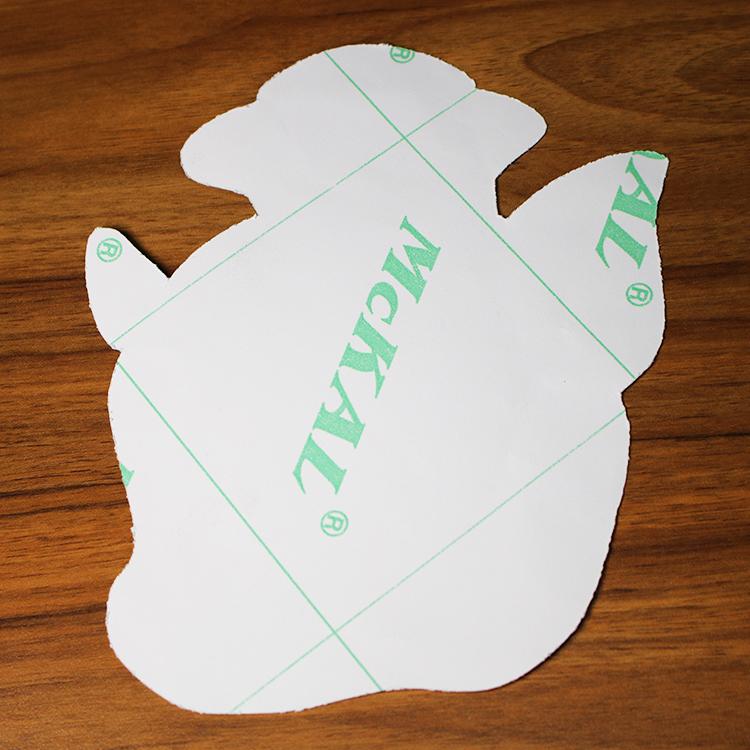 Custom Printing Waterproof Wall Decoration Removable Die Cut Sticker