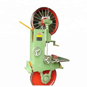 High efficiency wood cutting vertical band saw machine timber sawing machine