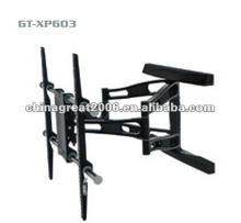 CGC double arm tv wall mount LCD TV rack GT-XP603 led tv rack