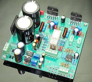 2014 Series Integrated Amplifier pure tone : LM3886 dual-channel front -stage amplifier board ( with power protection )