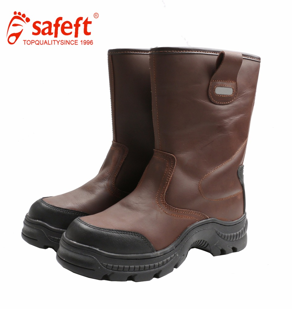 China security over the knee work boots mens