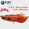Marine safety equipment / SOLAS Approved GRP Open Type LifeBoat/Rescue Boat