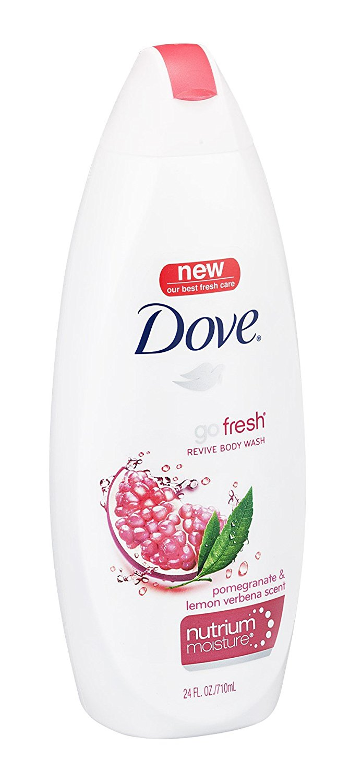 Dove Body Wash Pomegran L Size 22z Dove Body Wash Pomegranate Lemon Verbena (Revive) 22z