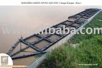 AquaTec Floating Fish Cage for Strong Current River