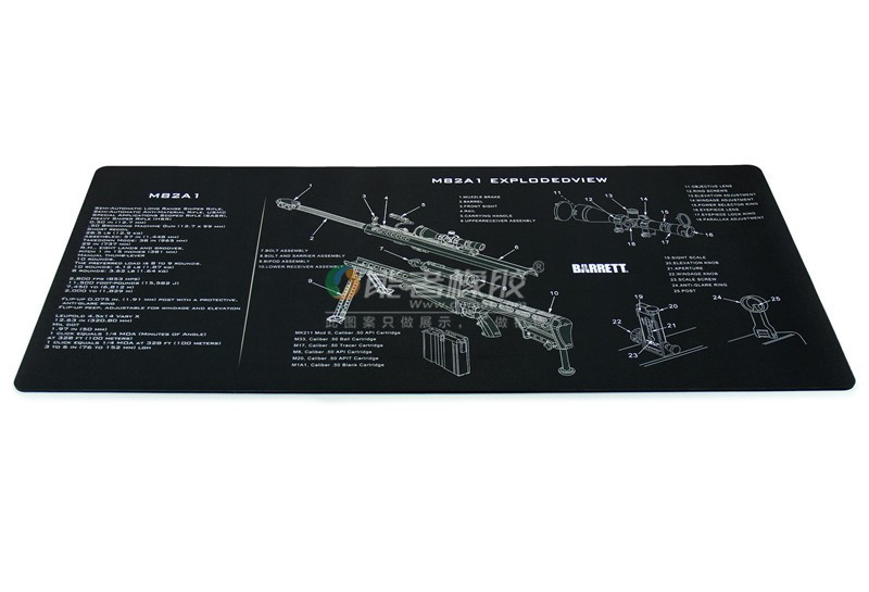 Ar15 Springfield Xd(s) Armorers Gun Cleaning Bench Mat /kit /pad Exploded  View Schematic Parts - Buy Ar15 Gun Mat,Gun Cleaning Kit,Gun Cleaning Pad
