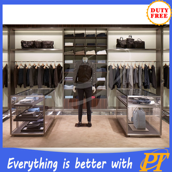 Retail Furniture For Men's Clothing Store