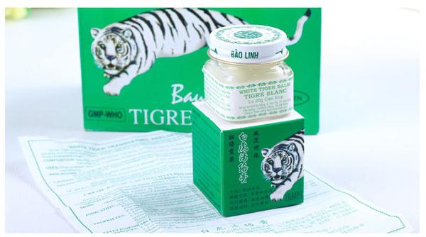 12 pcs lote 20 g baume du tigre blanc pour maux de t te maux de dents stomachache baume tigre. Black Bedroom Furniture Sets. Home Design Ideas