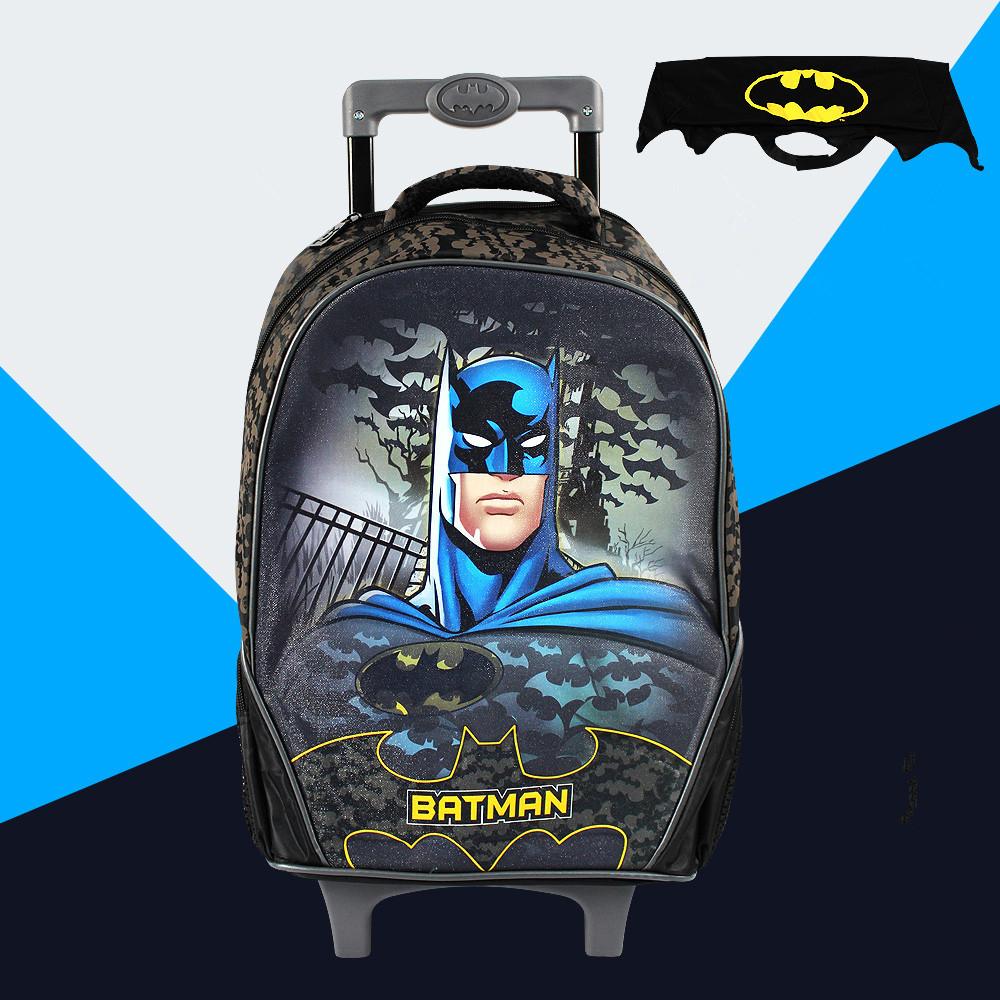 Batman children school bags backpack child mochila infantil kid bag bolsas  16 inch trolley bag backpacks gift Cloak  88139 ~ kids school ~ Bajby.com -  is ...