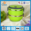 hot sale stainless steel thermal food container, stackable plastic container box
