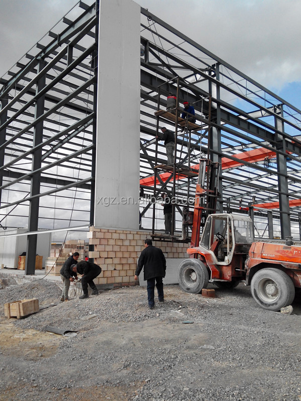 Mordern And Cheap Construction Design Precast Steel Structure Warehouse