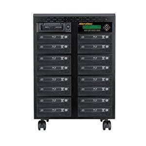 Aleratec 1:15 Standalone Blu-ray/DVD/CD Duplicator - Standalone - BD-ROM, Blu-ray Writer - 12x BD-R, 8x BD-R, 16x DVD+R, 16x DVD-R, 8x DVD+R, 8x DVD-R, 48x CD-R - 2x BD-RE, 8x DVD+RW, 8x DVD-RW, 24x CD-RW, 2x BD-RE - 260206