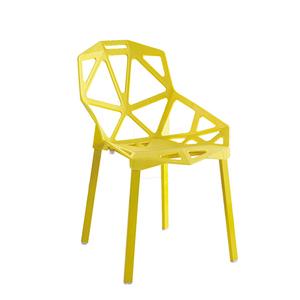 Modern Stacking Cheap Geometric Shape Garden Leisure Plastic Chair