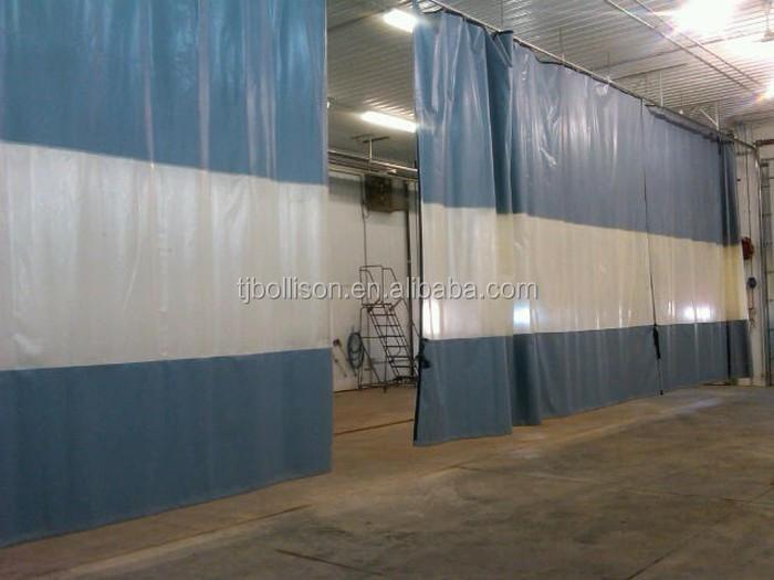 Gordijn Als Scheidingswand : Pvc industriële gordijnen magazijn verdelers gordijn scheidingswand