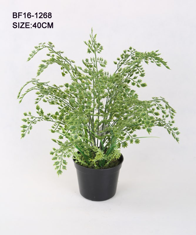 Artificial Grass-Blade Pot, Artificial Tree, Artificial Plants.