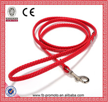 2012 new fashion red leather dog leash,pet leash