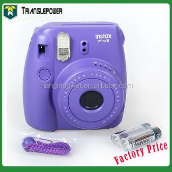 Fuji Fujifilm Instax Mini 8 Instant Film Grape Purple Camera