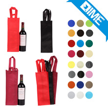 Factory Price Good Quality Foldable Packing Non Woven Wine Bags For Advertisement
