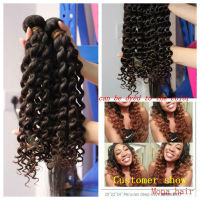 Good sell 100% virgin peruvian curly hair