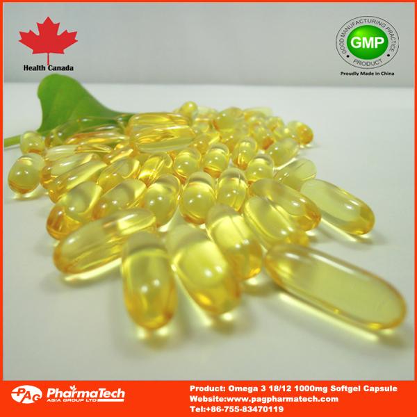 Halal fish oil omega 3 18 12 1000mg vitamin e 5mg soft for Halal fish oil