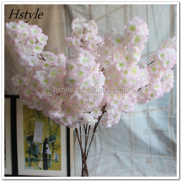 Cheap Real Touch Wholesale Decorative 140 Heads Dense Sakura for Home Office Wedding FZH072