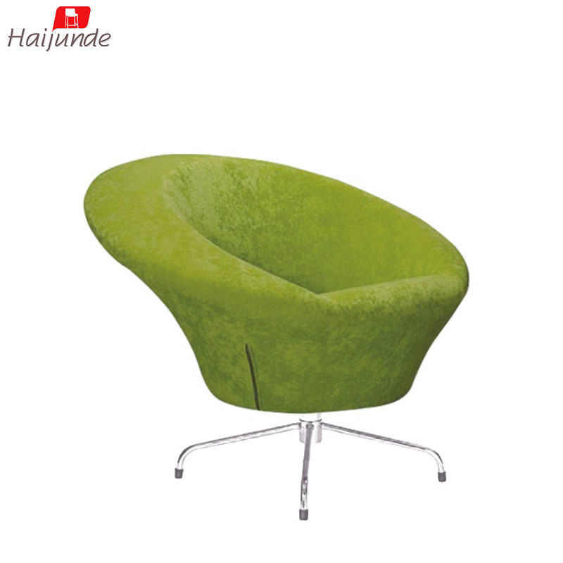 Single Sofa Swivel Chair Lime Green