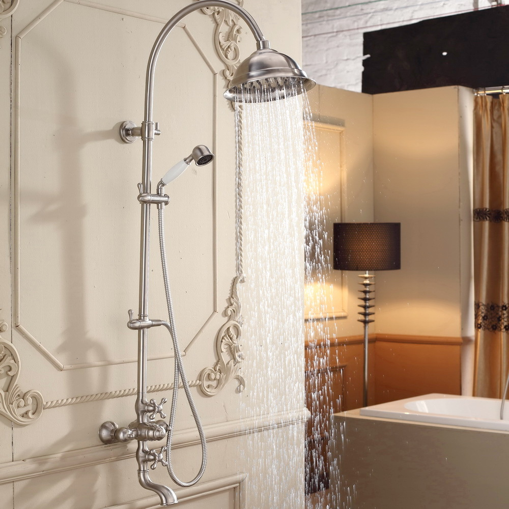 wide spread bath and shower faucet indoor waterfalls for homes