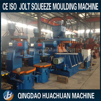 CE/ISO High quality molding machine for clay sand molding line