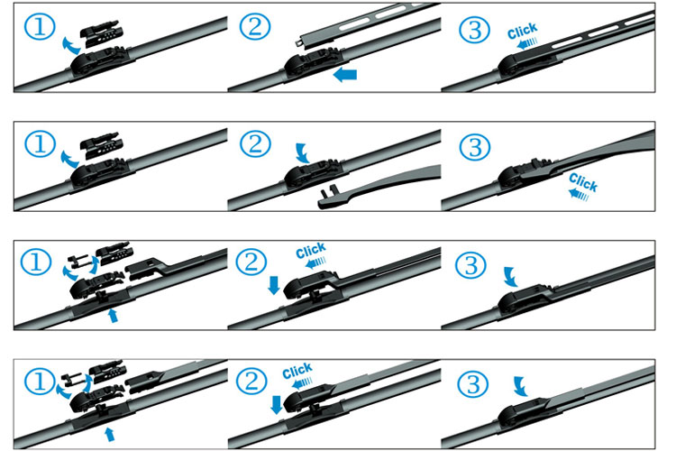 Goodyear Windshield Wipers >> How To Change Wiper Blades Refresh Windshield Wipers ...