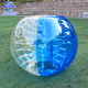 Factory price Cheap half color 100% TPU human sized body inflatable bubble soccer ball for football