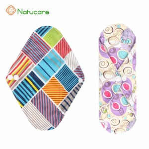 Washable woman bamboo cotton Always Sanitary Pads and super absorbent cloth sanitary pads reusable