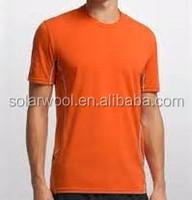 Mens Merino Wool Thermal Summer T Shirt