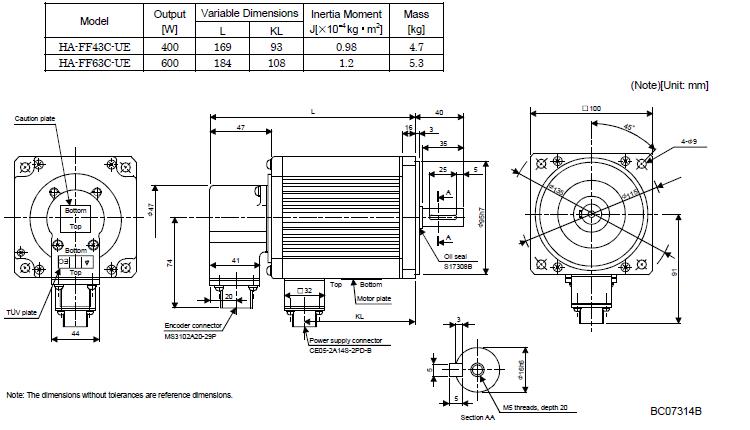 MITSUBISHI 129V 600W ac servo motor HA-FF63C-UE, View MITSUBISHI ac servo  motor, MITSUBISHI Product Details from Sichuan Hongjun Science And