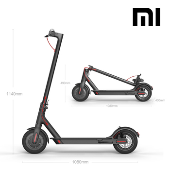 High Quality Foldable Electric Kick Scooter, Original XIAOMI MIJIA M365  Scooter, Smart Self Balancing Scooter, View Foldable Electric Kick Scooter,