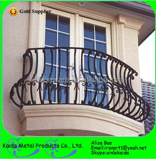 Simple decorative forging craft wrought iron door window for Window design pakistan