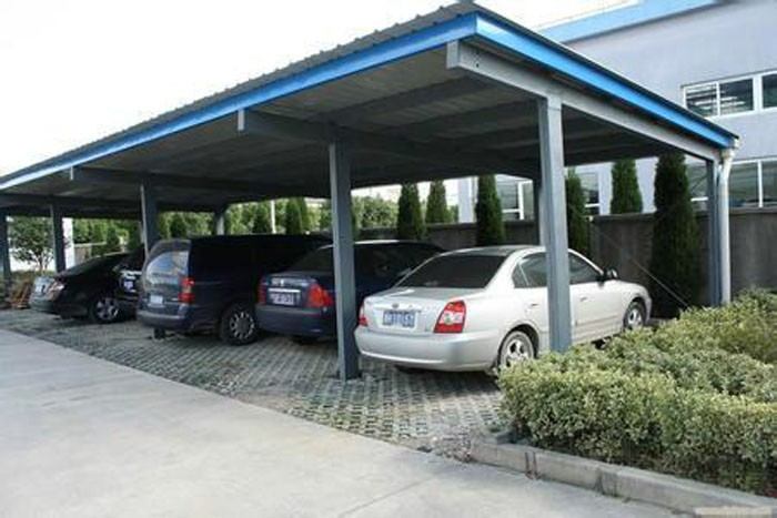High Quality Steel Structure Shed For Car Parking Buy