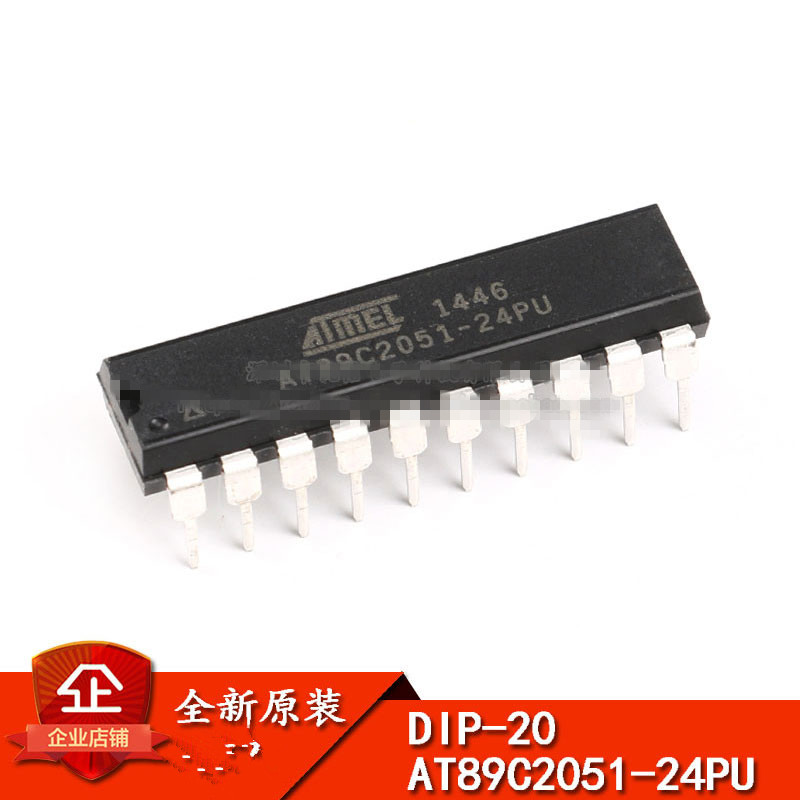 AT89C4051-24PU Atmel Mikrocontroller 24MHz 4KByte FLASH DIP20