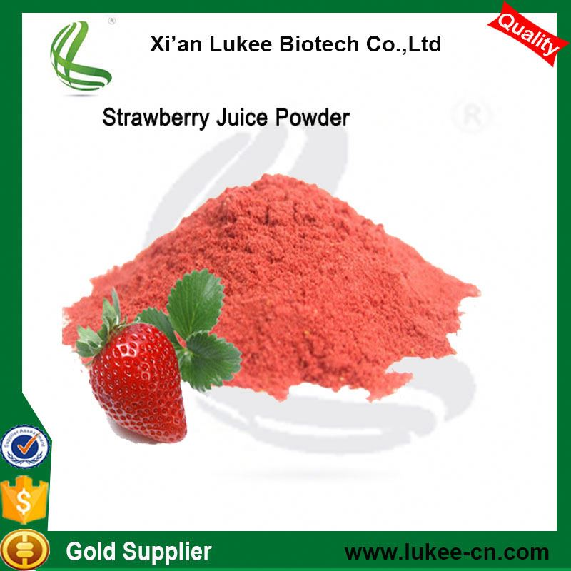 Supply organic strawberry flavour powder / strawberry extract