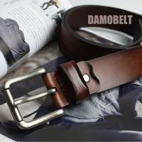 Handmade Custom Vintage Designer Mens Leather Belt/Unique Leather Belts