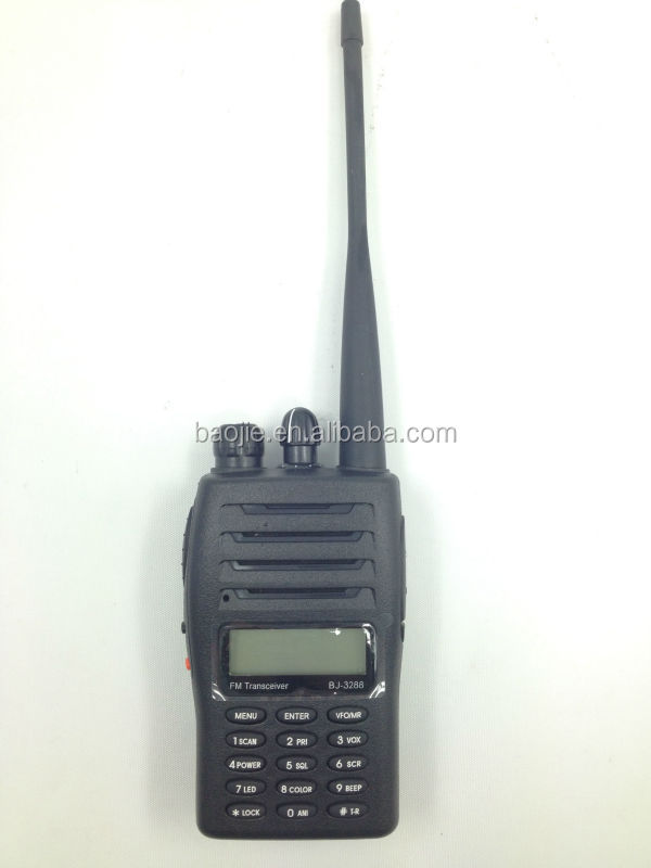 Best buy walkie talkies VHF 5 W/UHF 4 W BJ-3288