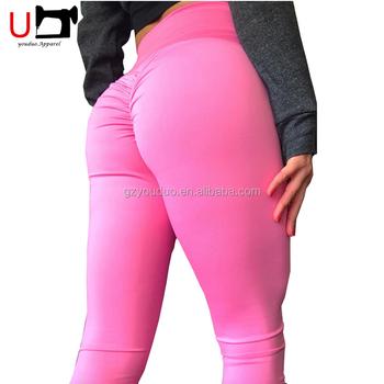 2938e1b2aebc3f Sportswear Sexy Cheeky High Waist Yoga Pants Fitness Scrunch Butt Leggings