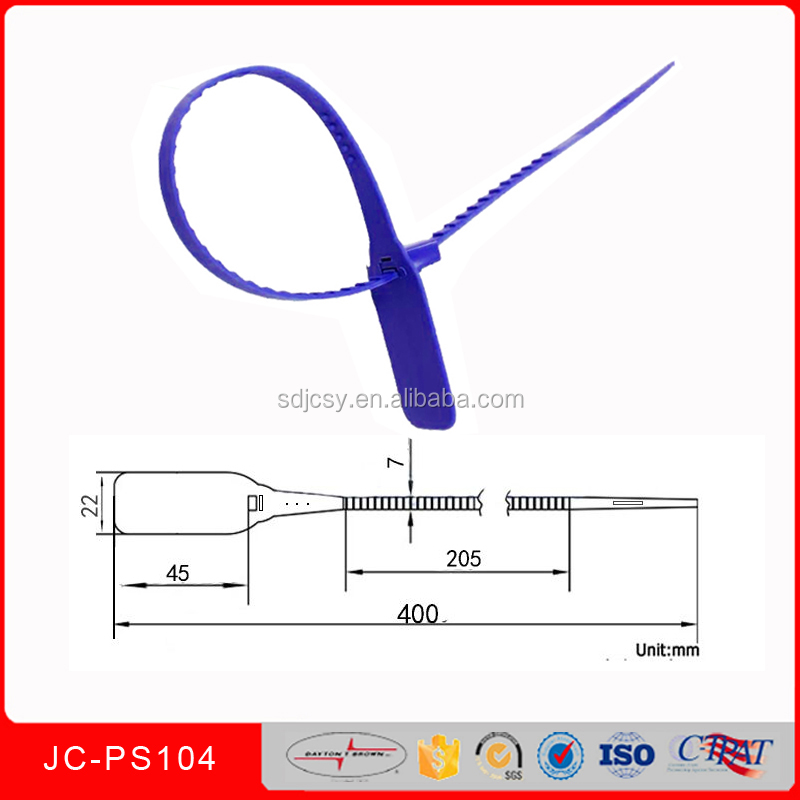 JCPS104 New Product hang tag lock seal strip