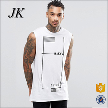 customise men sleeveless shirts printing design mens cotton sleeveless inner t shirts for sports and fitness wear