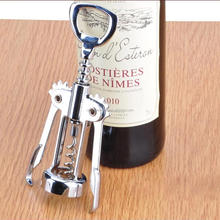 Zinc Alloy Red Wine Butterfly Corkscrew Wine Bottle Opener