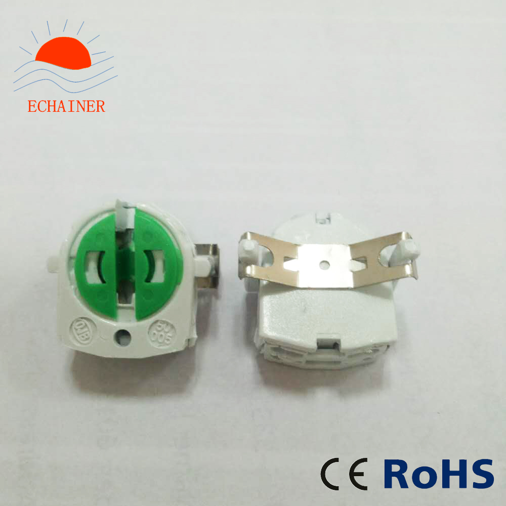 T5 Fluorescent lamp holder G5 Socket with metal wing on the back