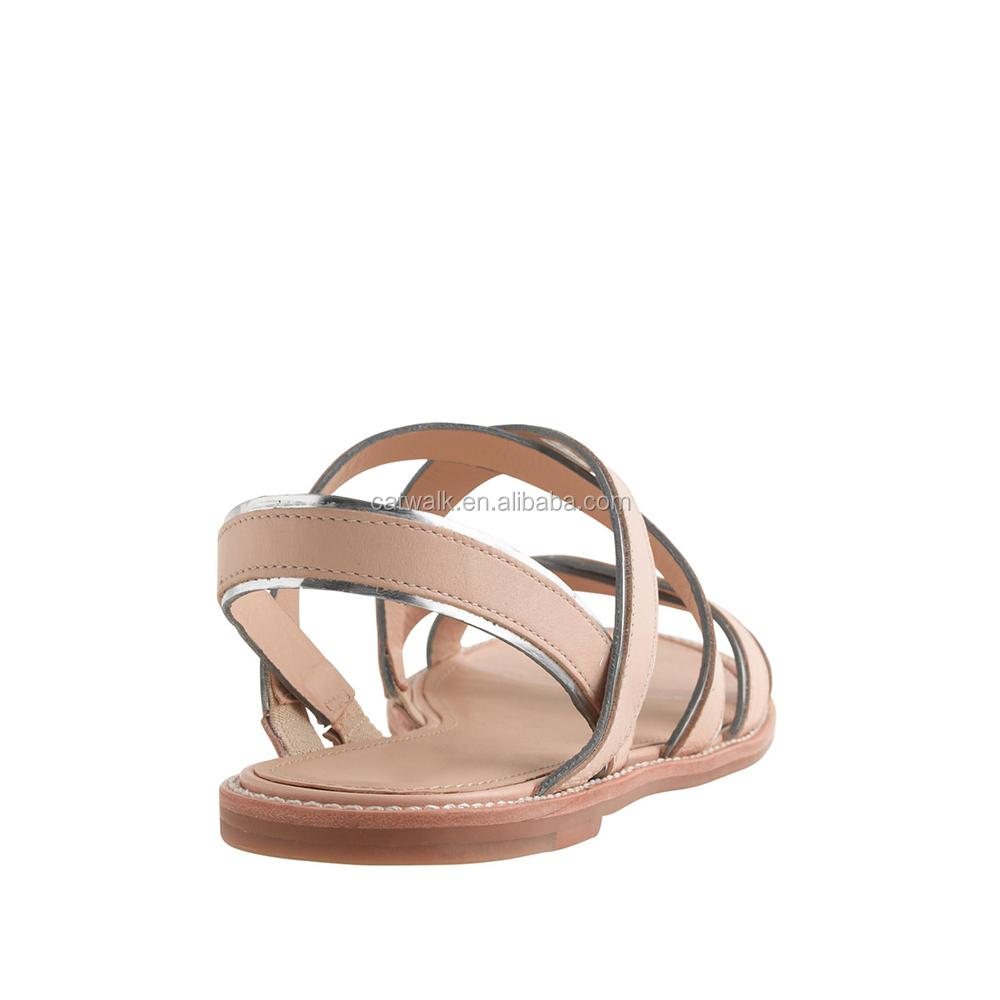 European sandals shoes - 2015 European And American Style Summer Flat Strap Sandals Women Casual Flat Shoes Female Roman Sandal