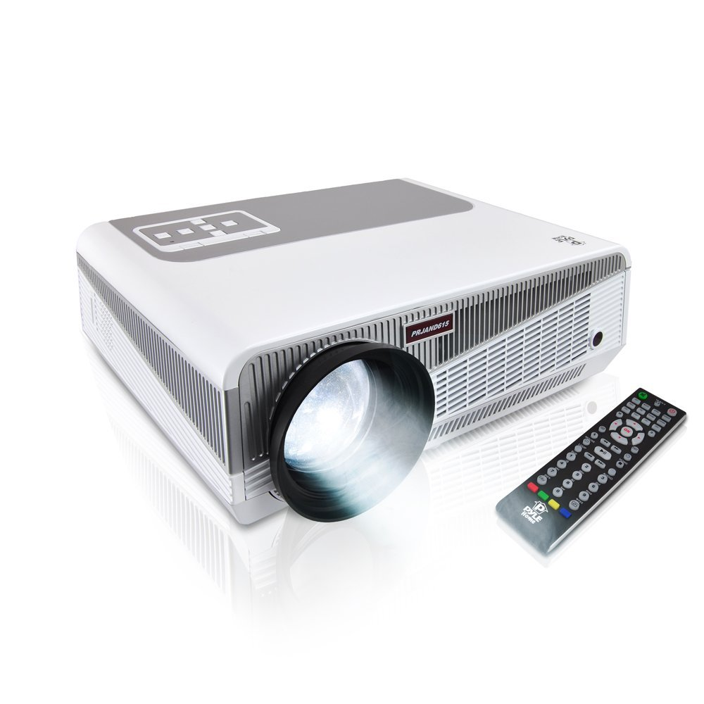 HTP Hot Sale 1280x800 Full HD LED Projector LED-86+ Build in Wifi Android