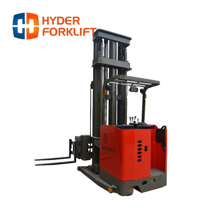 Wholesale High Quality 3 Way Narrow Aisle Forklift Side
