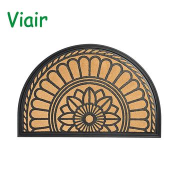 Rubber Doormat Anti Slip Custom 60x90cm Outdoor Floor Door Mats Large Entrance Home